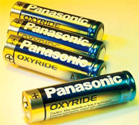 Panasonic Oxyride cells
